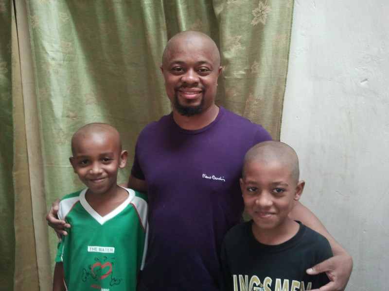 Me and my nephews!