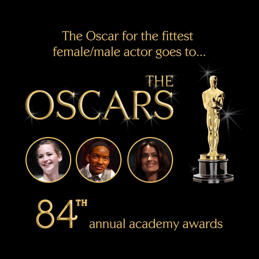 Oscar Awards Fittest Actors
