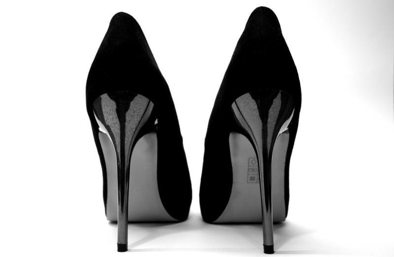 high heels weight loss