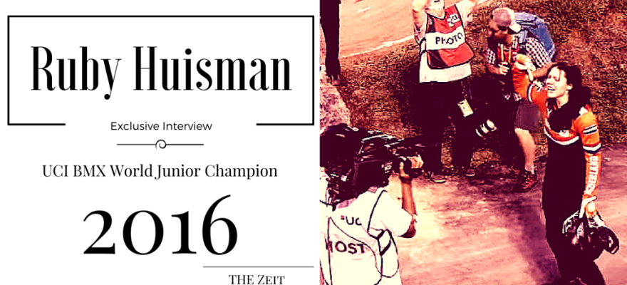 Ruby Huisman Interview BMX Champion