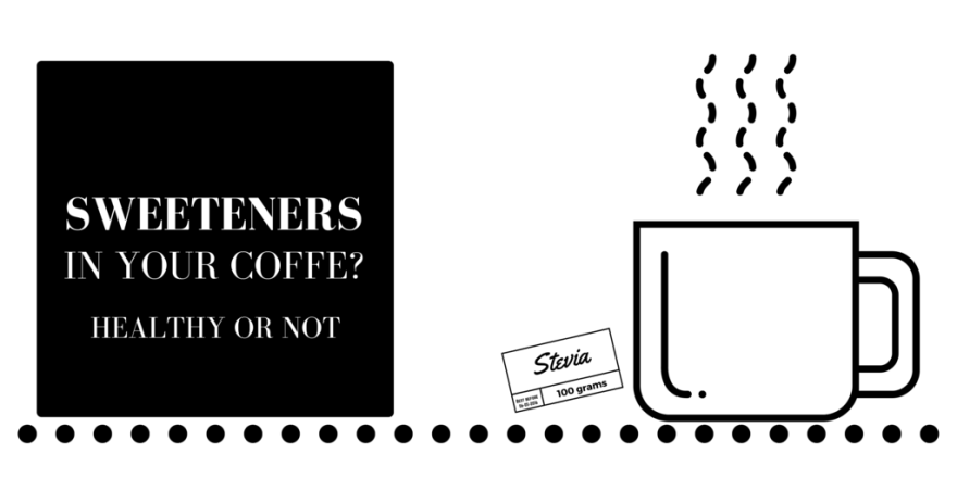 Sweeteners in coffee